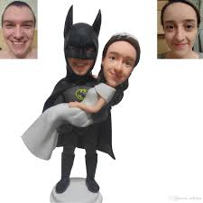 batman wedding cake toppers batman groom and in cake top creative wedding cake