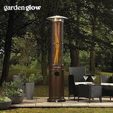 Flame Gas Patio Heater Garden Glow 15kw Circle Flame Garden Patio Heater Patiomate