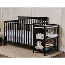 black crib with changing table black crib changing table combo you ll love wayfair