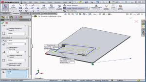 Edit Sketch Pattern In Solidworks | solidworks tutorial lesson 24 linear sketch pattern youtube