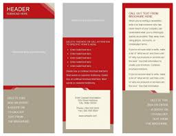 templates for brochures in google docs 6 panel brochure template the best templates collection