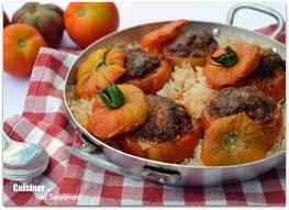 cuisiner tomates tomates farcies boeuf chorizo cuisiner tout simplement le