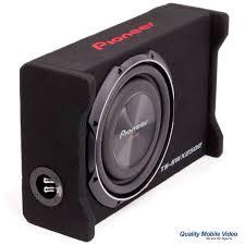 pioneer photo box pioneer ts swx2502 800 watt 10 shallow series preloaded enclosure