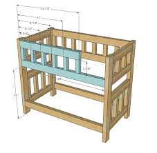Ana White Build A Side Street Bunk Beds Free And Easy Diy by 18 Best American Doll Beds Images On Pinterest Doll