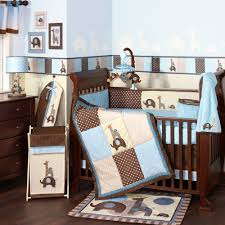 Blue Boy Crib Bedding Blue And Brown Baby Crib Bedding Sets Baby Bedroom