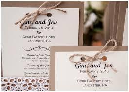 wedding invitations cork cork factory winter wedding rustic wedding chic