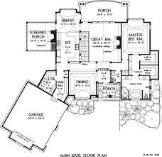 Luxury Mansion House Plan First Floor Floor Plans House Plan The Broadleaf By Donald A Gardner Architects