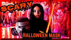 scary halloween mask halloween story youtube