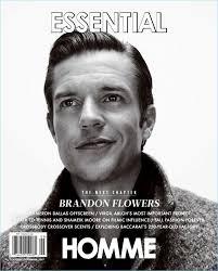 I Love Brandon Flowers - brandon flowers covers essential homme talks u0027wonderful wonderful u0027