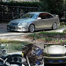 1999 honda civic ek coupe k20 civic visions pinterest 1999