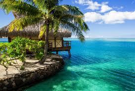beach tropiks house water bungalow beach ocean maldives nature