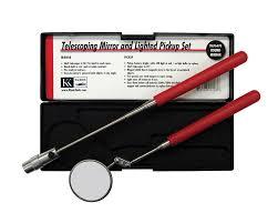 lighted magnetic pickup tool da76470 mirror pickup tool kit klenk hvacr tools