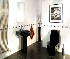 Red And Black Bathroom Decorating Ideas Accessories Licious Black And White Tile Bathroom Decorating