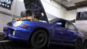 subaru bugeye jdm 2003 subaru wrx with jdm ej207 motor dyno run youtube