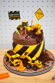 construction cake toppers the 30 best birthday cakes for boys my cake recipes