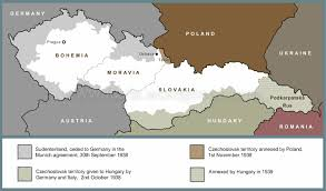 Post Ww2 Map A Short History Of The Czechoslovak Air Force In Ww2 And The Post