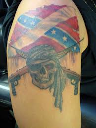 photo collection rebel skull tattoos in