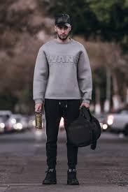 wang hm men s wang x h m sweaters duffel wang x h m