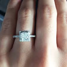 10000 engagement ring 14k white gold 2 06ctw certified diamond engagement ring