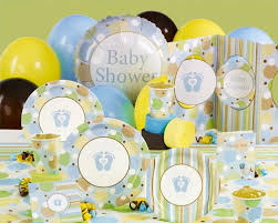 yellow baby shower decorations baby shower party rack party rental in glendale