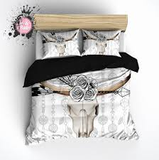 bed scarves and matching pillows bed scarves and matching pillows astounding boho bull skull flower