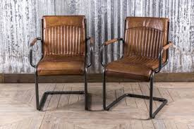 Leather Dining Chair Stylish Leather Dining Room Chair From Our Large Range Of Vintage