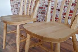 Slat Back Dining Chairs Farmhouse Slat Back Dining Chairs With Beech Antique Finish