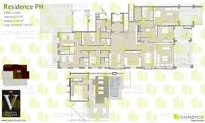 6 Bedroom Floor Plans Residences At Vizcaya Floor Plans