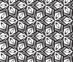 ethnic modern geometric seamless pattern ornament background print