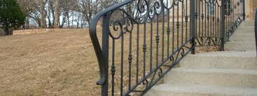 step rails aaron ornamental iron works