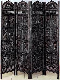 Room Divider Screen by Antiques Wood Room Divider 4 Panel Hand Carved Screen Home Decor