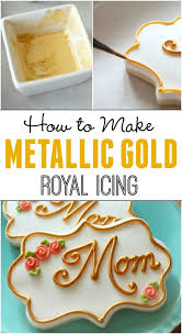 how to make gold icing u2026and silver too u2013 the sweet adventures of