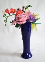 handmade flower bouquet multicolor cold porcelain floral decor