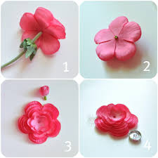 hair bow center tutorial flower hair bow tutorial creative juice