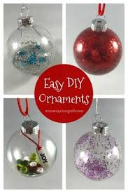 make these easy glass ornaments for your tree ornament