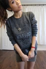 kenzo tiger sweatshirt u2013 niniloves