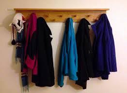 wall mount coat rack with shelf u2014 jen u0026 joes design modern wall