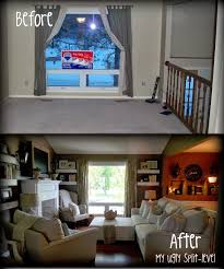 Decorating A Bi Level Home This Has Tons Of Thrifty Ideas For Redecorating A Plain