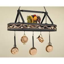kitchen pot racks with lights fancy hanging pot also pan rack then lights n hanging in hanging