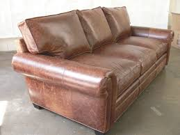 Brompton Leather Sofa Our Langston Leather Sofa In The 43 U2033 Depth Tailored In Our