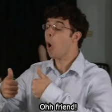 Inbetweeners Friend Meme - football friend gifs get the best gif on giphy