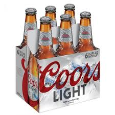 is coors light a rice beer light cold activated beer 6 pack 12 oz