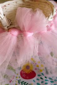 Homemade Easter Baskets by Pottery Barn Inspired Tulle Tutu Easter Basket Diy Tutorial