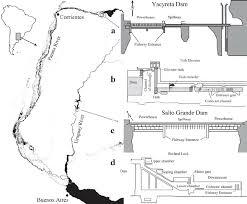 parana river map geographic location of yacyretá dam parana river and salto