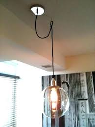 swag pendant lights pendant lights hanging swag l parts