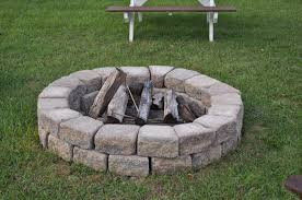 Backyard Fire Pit Lowes by 39 Fire Pit Ring Lowes 50 000 Btu Stone Design Composite Propane