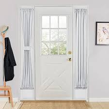 Blackout Door Curtains Sliding Glass Door Curtain Panels Pony Dance Thermal Insulated