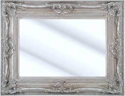 Bevelled Mirror Como Silver Framed Ornate Bevelled Mirror 6 Sizes Click Image To