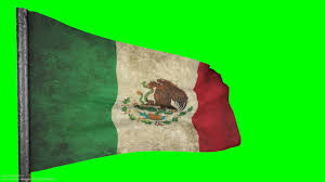 Picture Of Mexican Flag Mexico Flag Grunge Flag Style 3d Animation 1080p Green Screen