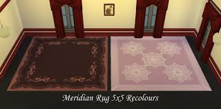 5 X5 Rug Mod The Sims The Meridian Rug 5x5 15 Recolours